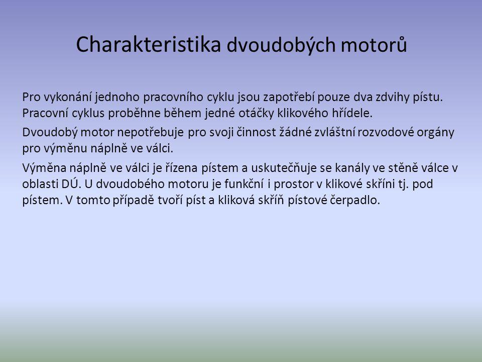 Charakteristika dvoudobých motorů