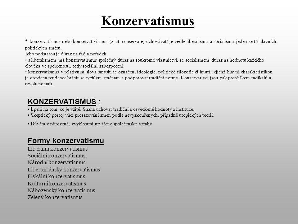 Konzervatismus