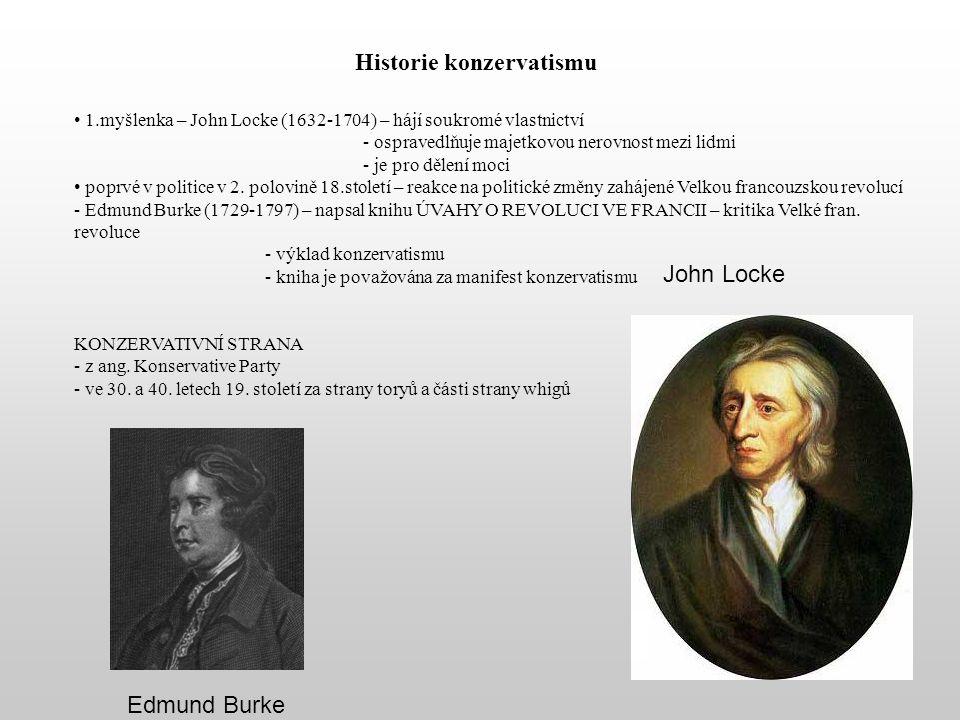 Historie konzervatismu