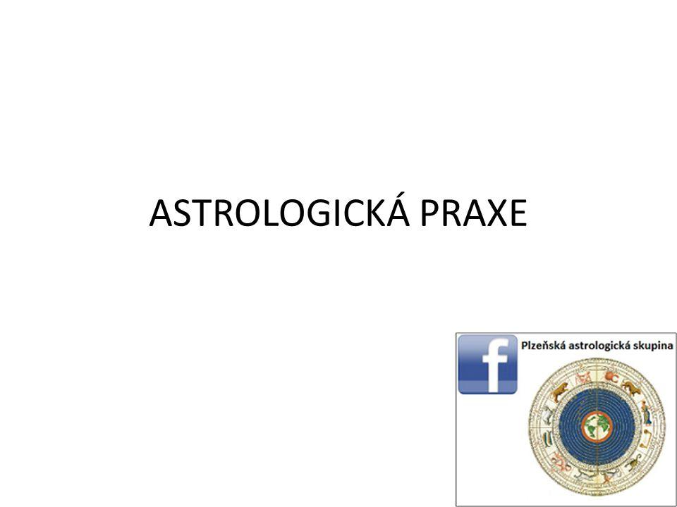 ASTROLOGICKÁ PRAXE
