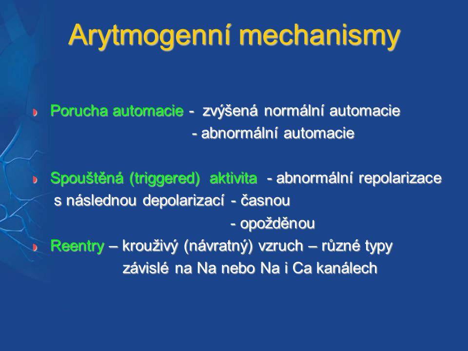 Arytmogenní mechanismy