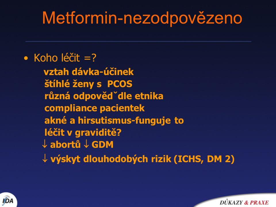 Metformin-nezodpovězeno