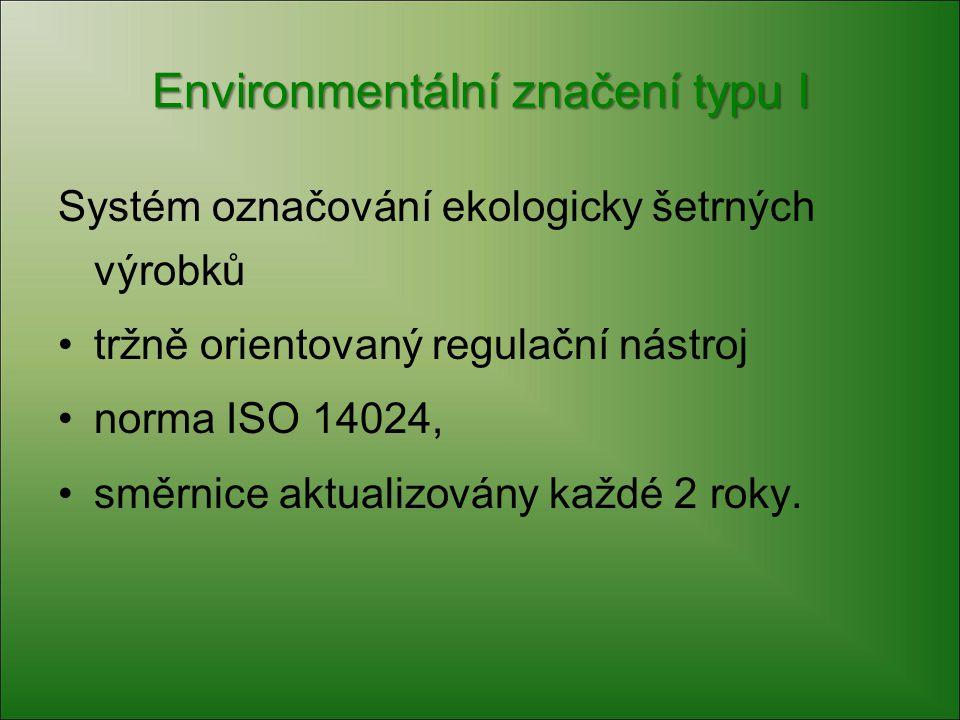 Environmentální značení typu I