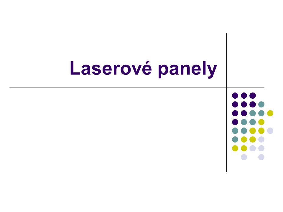 Laserové panely