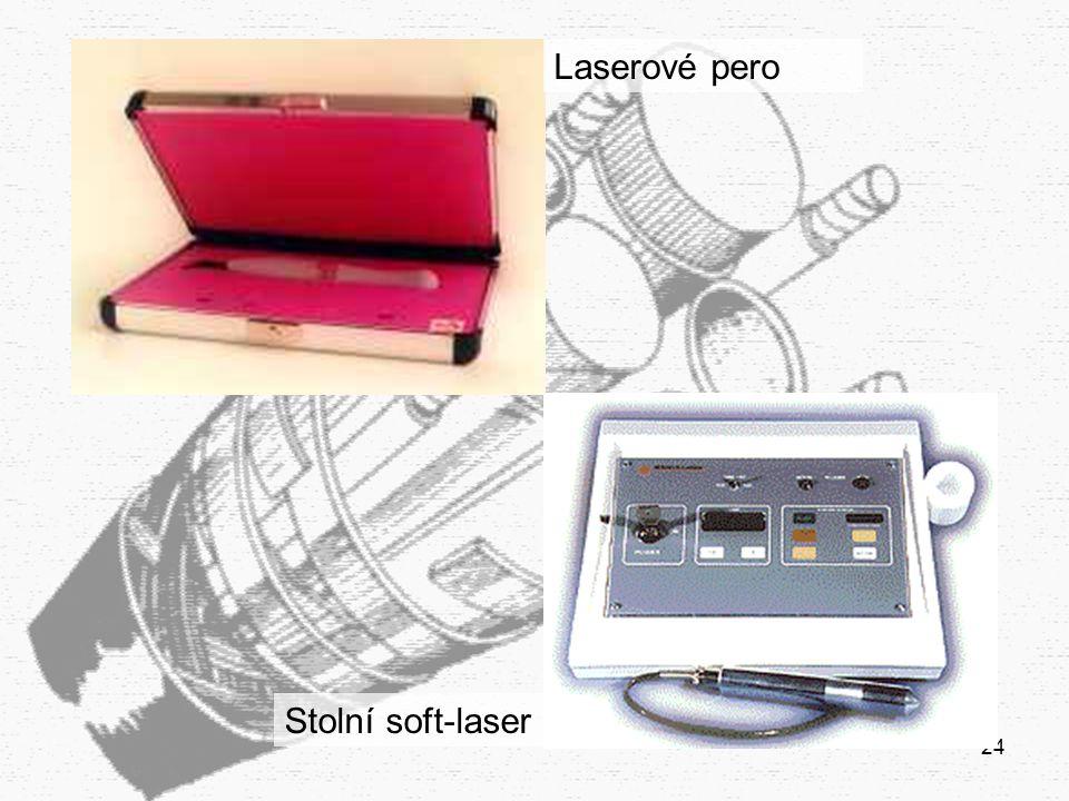 Laserové pero Stolní soft-laser