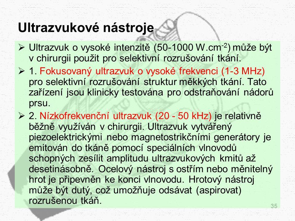 Ultrazvukové nástroje