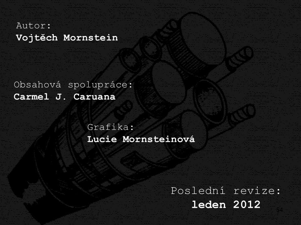 Poslední revize: leden 2012