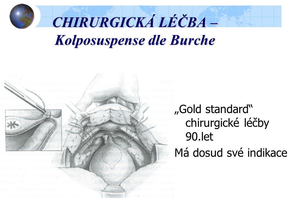 CHIRURGICKÁ LÉČBA – Kolposuspense dle Burche