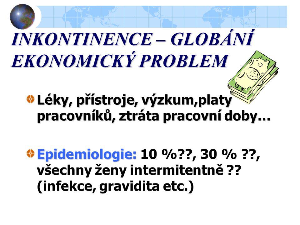 INKONTINENCE – GLOBÁNÍ EKONOMICKÝ PROBLEM