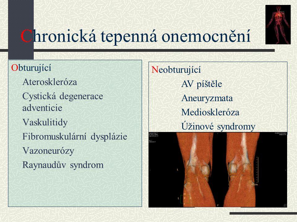 Chronická tepenná onemocnění