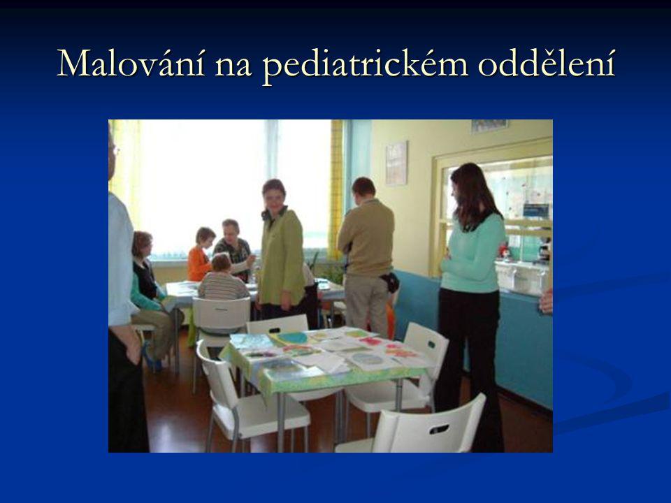 Malování na pediatrickém oddělení