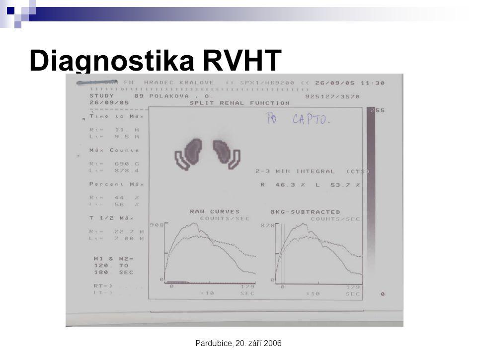 Diagnostika RVHT Pardubice, 20. září 2006