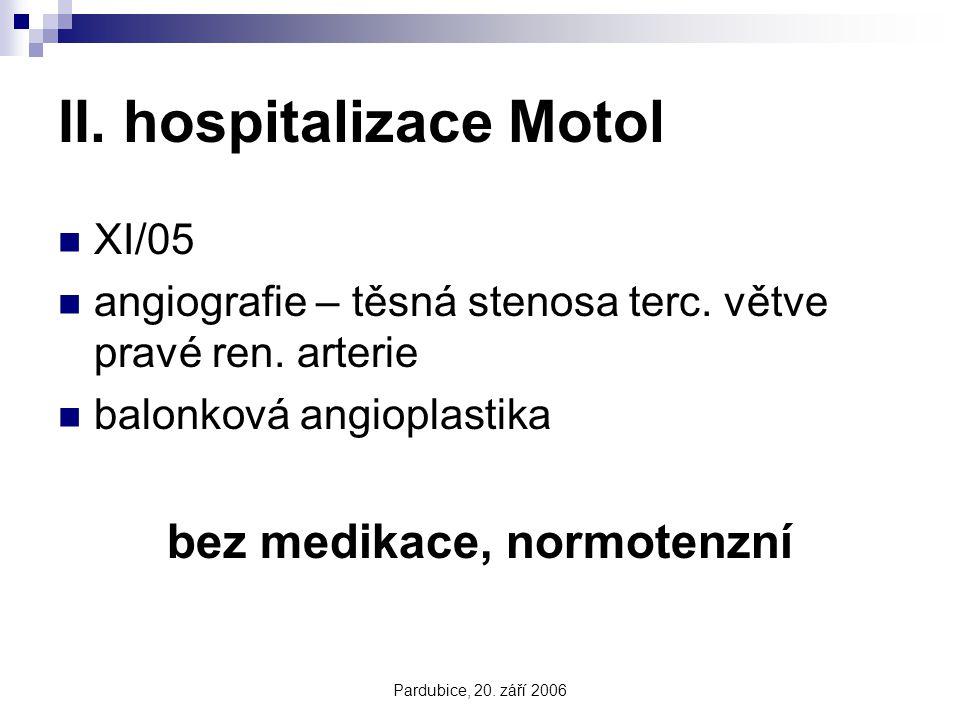 II. hospitalizace Motol