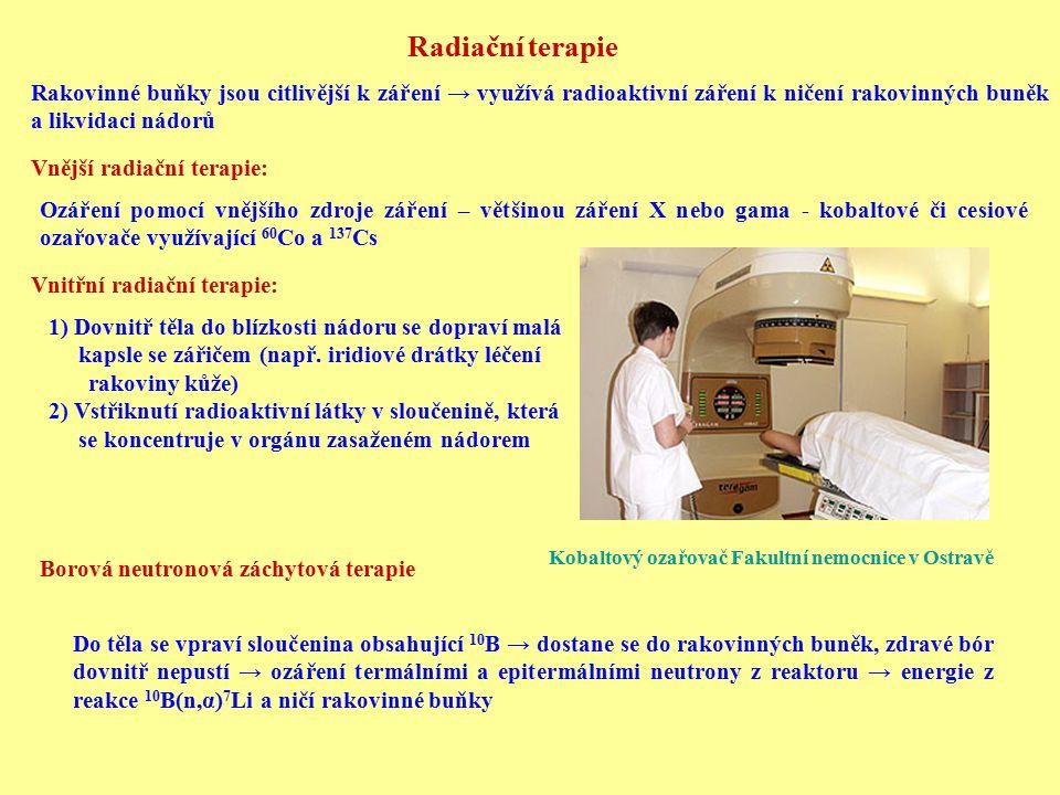 Kobaltový ozařovač Fakultní nemocnice v Ostravě