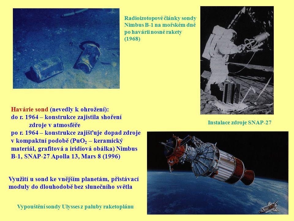 Vypouštění sondy Ulysses z paluby raketoplánu