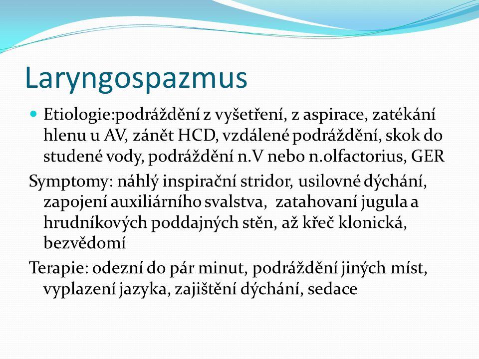 Laryngospazmus