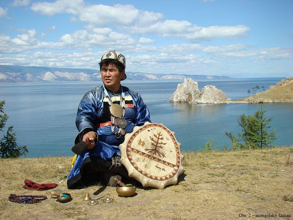 Obr. 2 – mongolský šaman