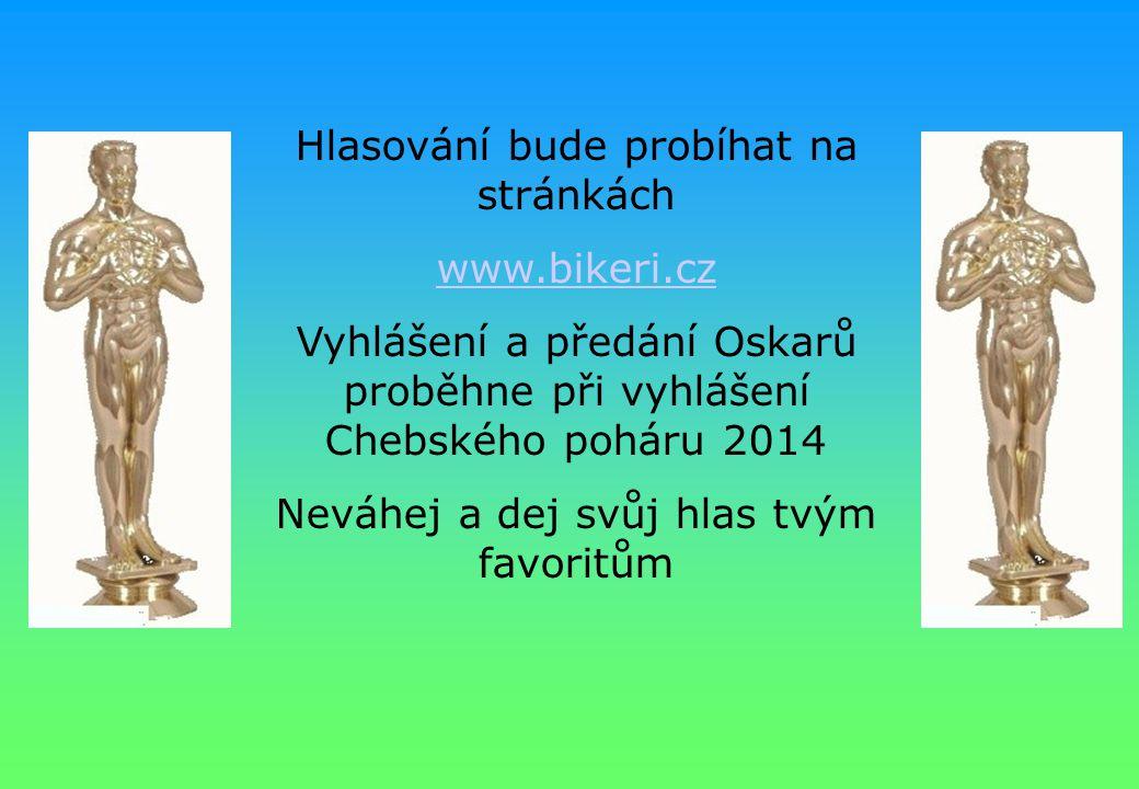 Hlasování bude probíhat na stránkách www.bikeri.cz