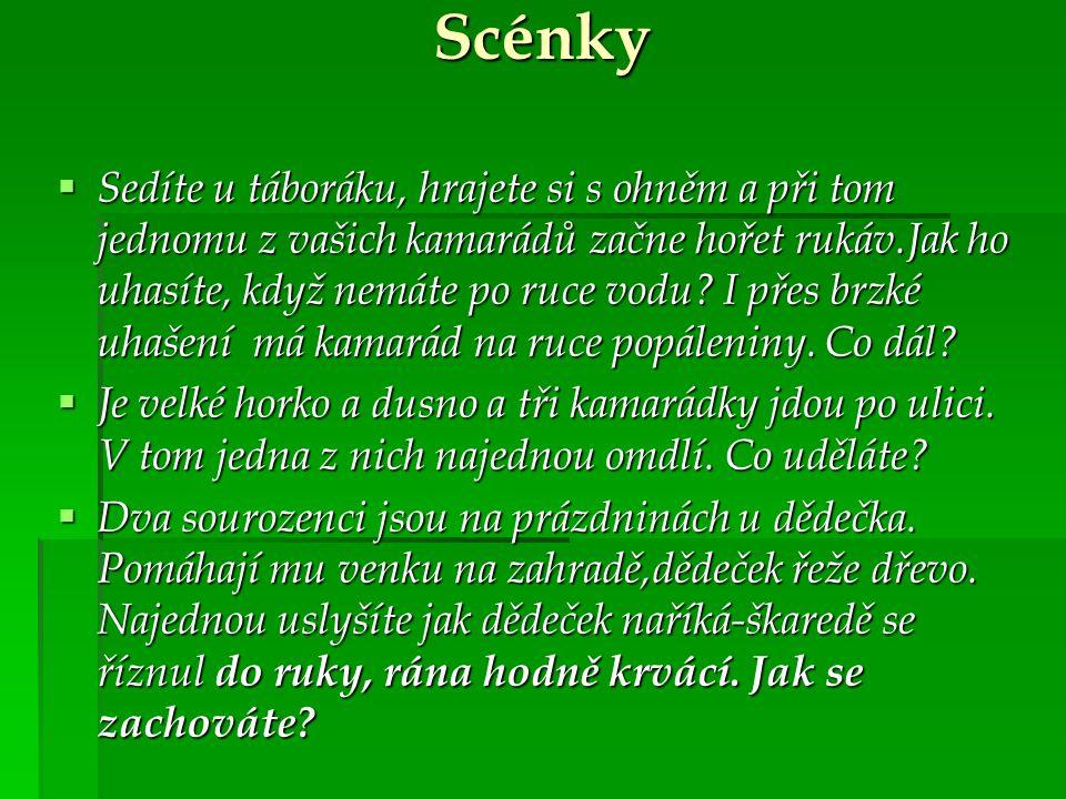 Scénky