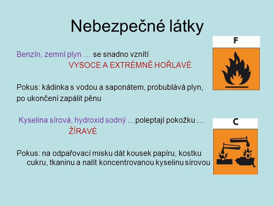 Nebezpečné látky