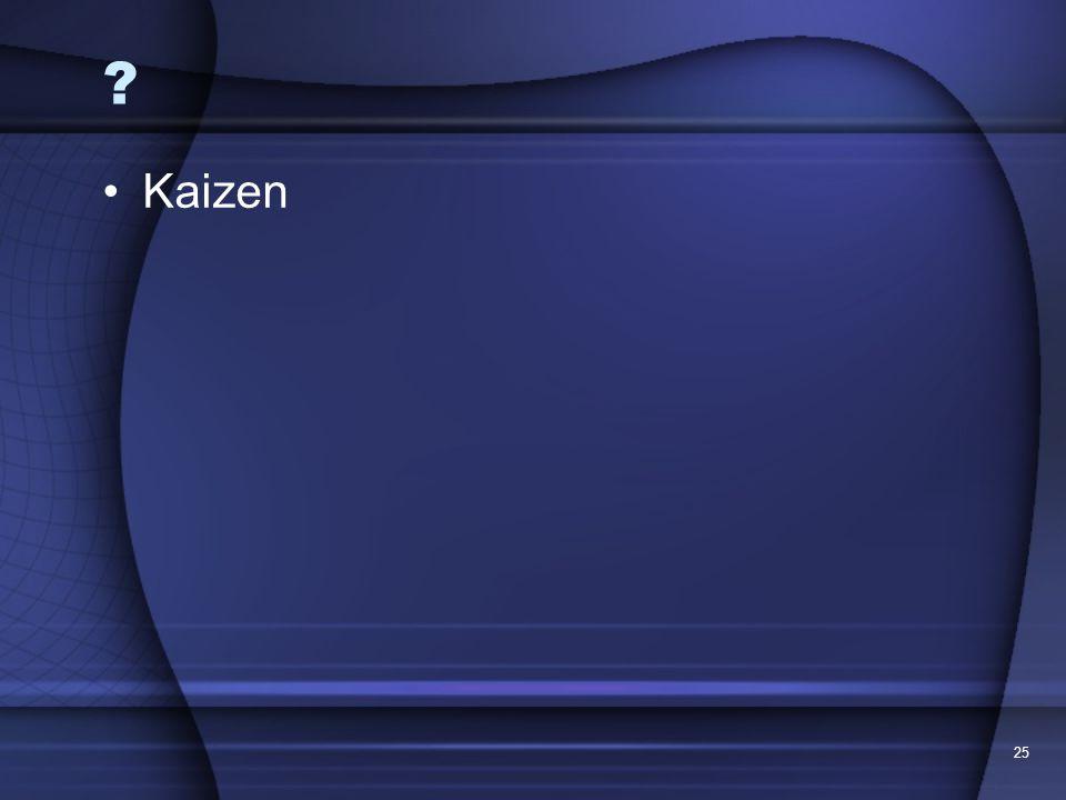 Kaizen 25