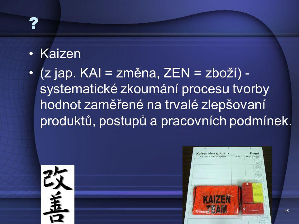 Kaizen.