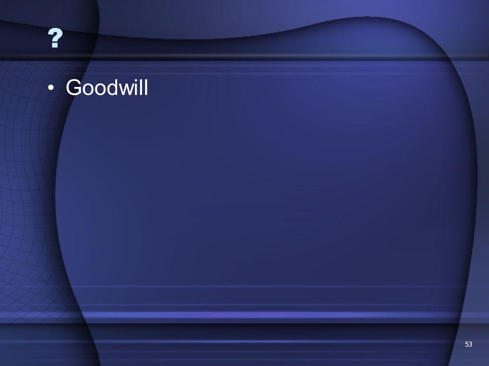 Goodwill 53