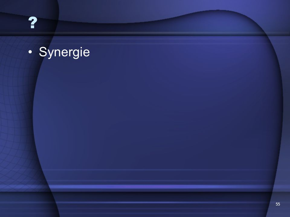Synergie 55