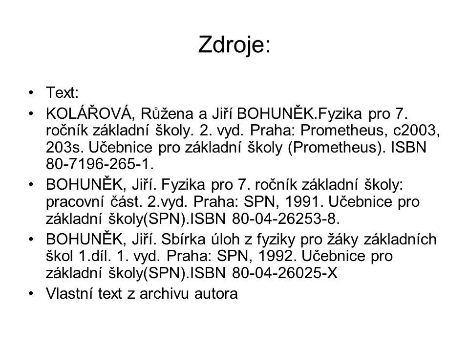 Zdroje: Text:
