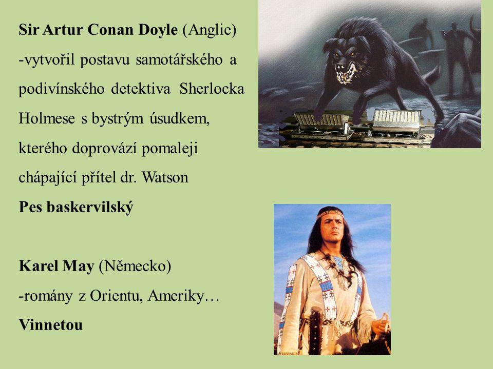Sir Artur Conan Doyle (Anglie)