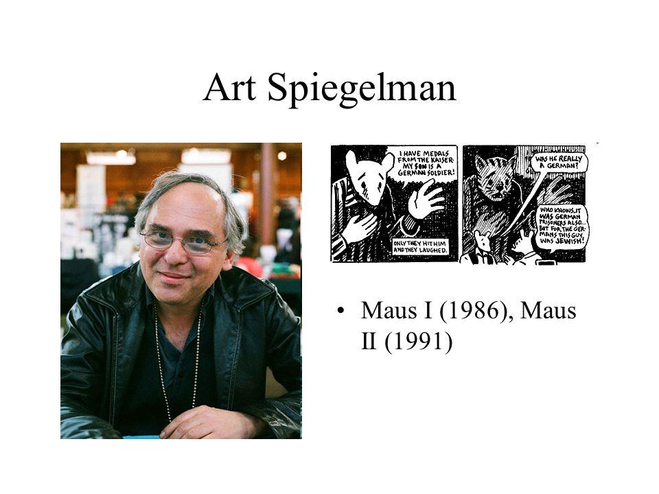 Art Spiegelman Maus I (1986), Maus II (1991)