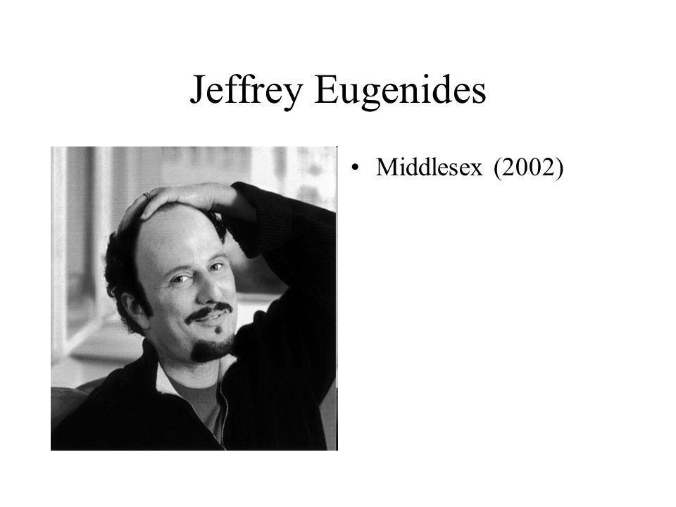 Jeffrey Eugenides Middlesex (2002)