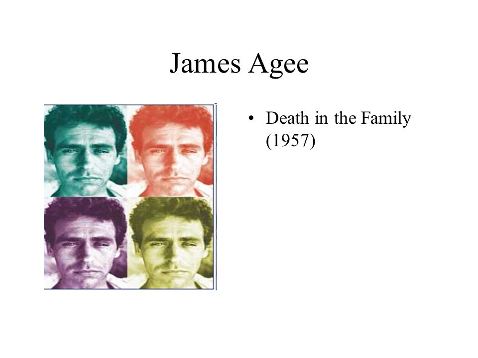 James Agee Death in the Family (1957)