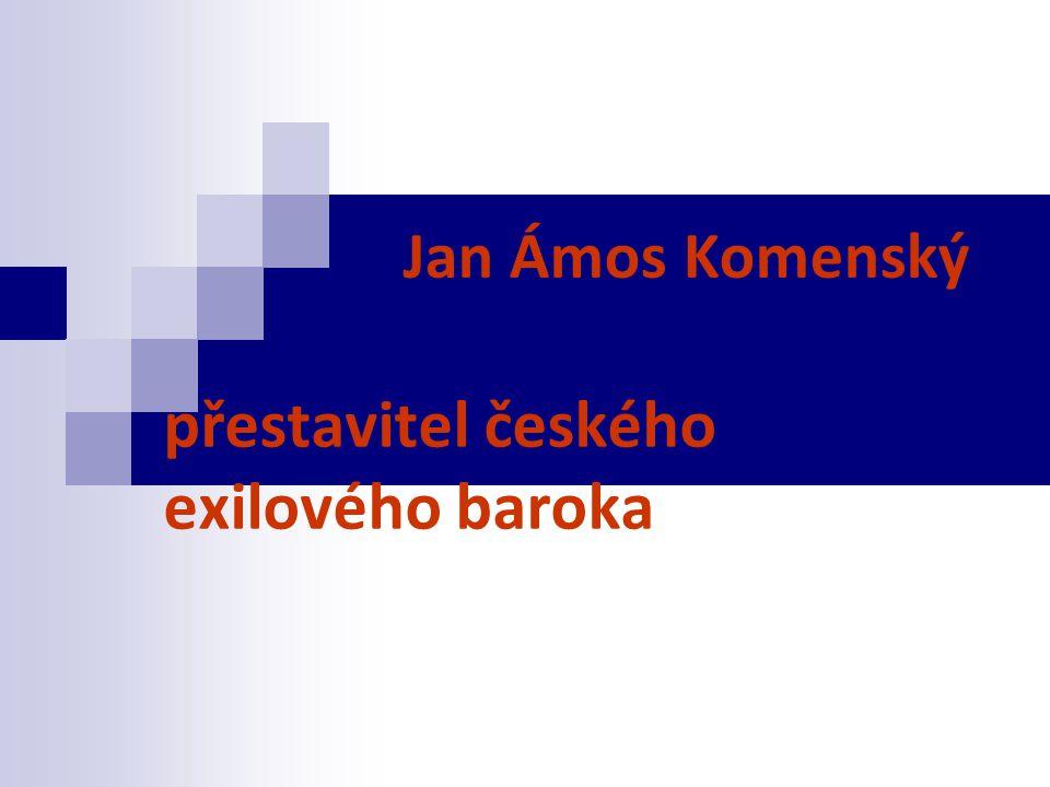 přestavitel českého exilového baroka