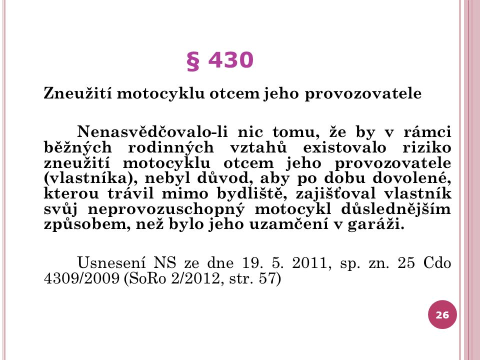 § 430