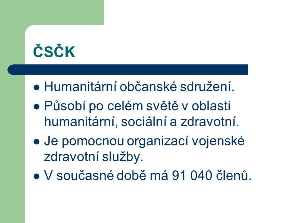 ČSČK Humanitární občanské sdružení.