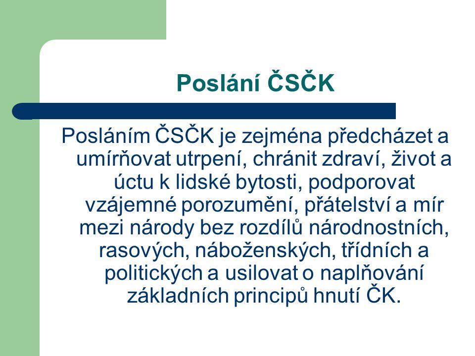 Poslání ČSČK