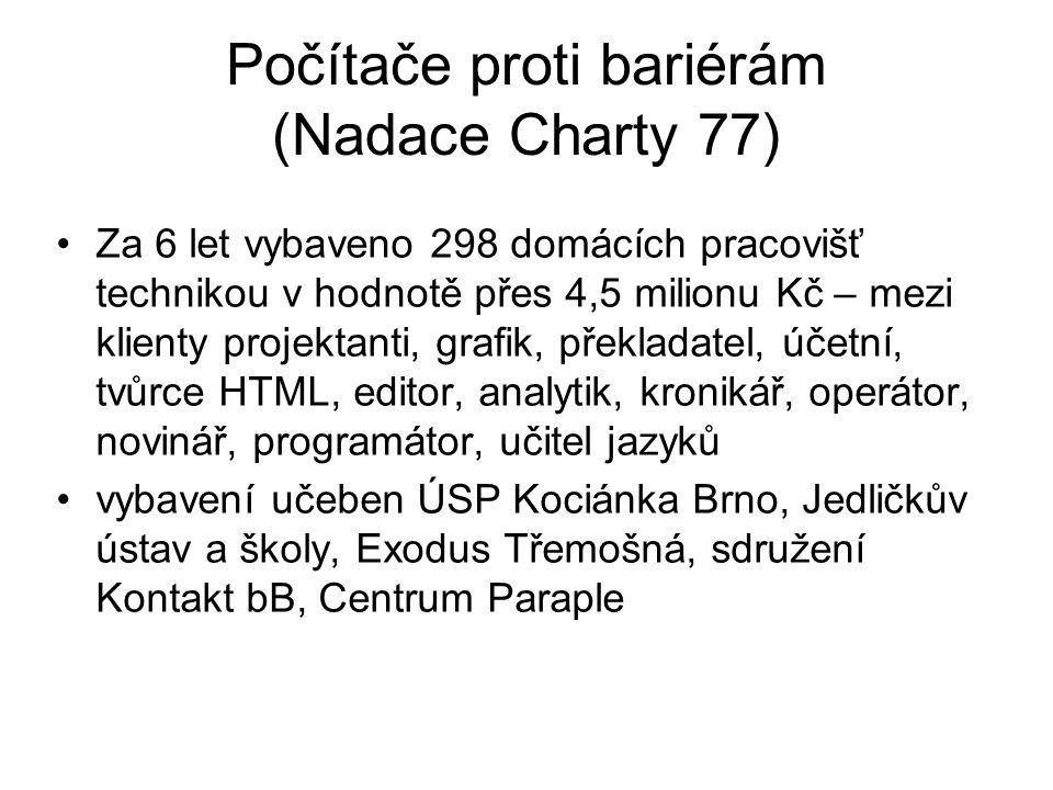 Počítače proti bariérám (Nadace Charty 77)