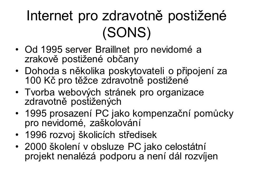 Internet pro zdravotně postižené (SONS)