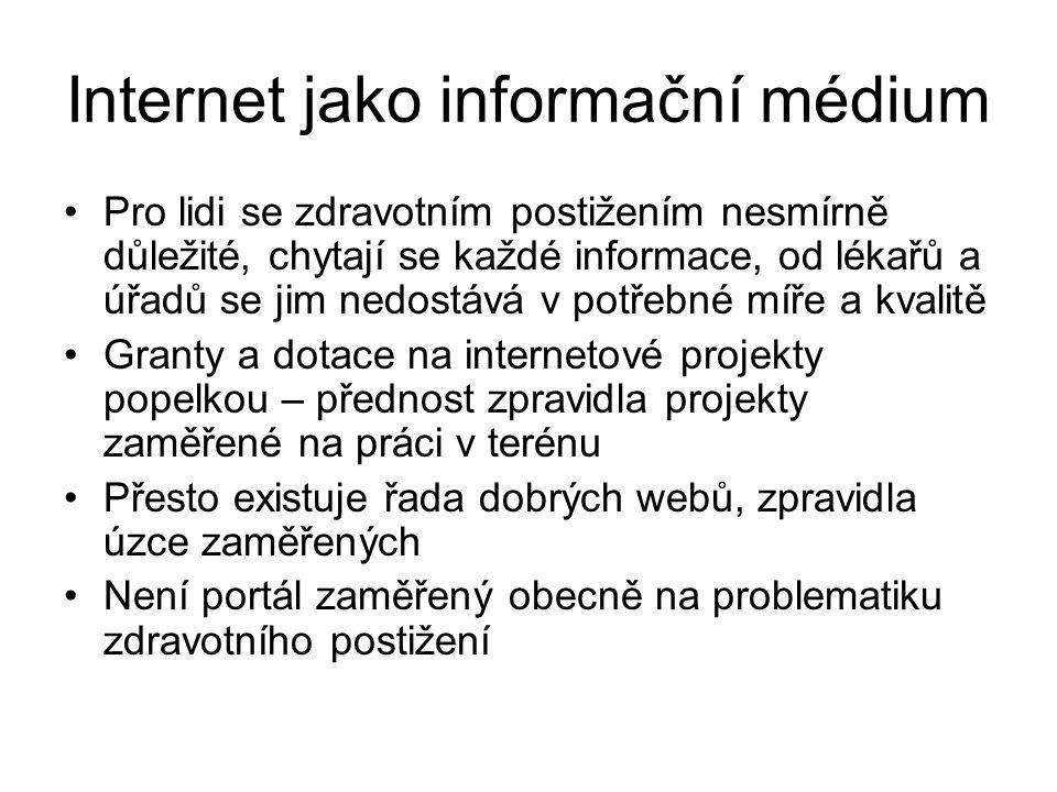 Internet jako informační médium