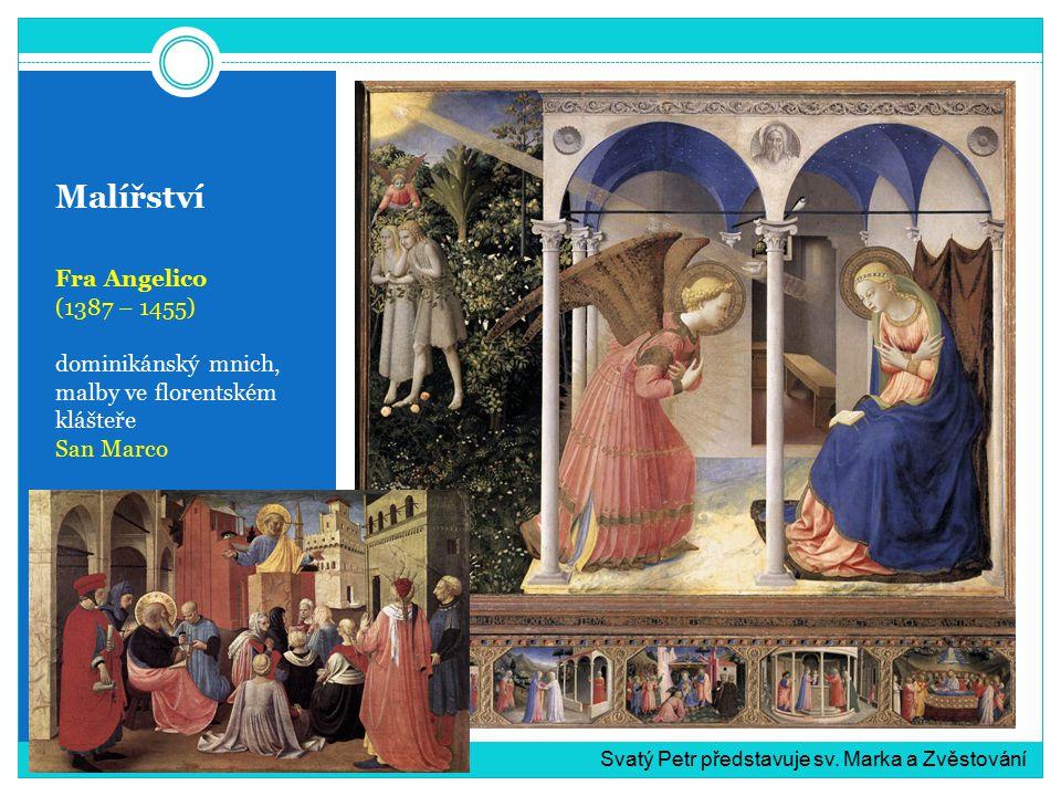 Malířství Fra Angelico (1387 – 1455)