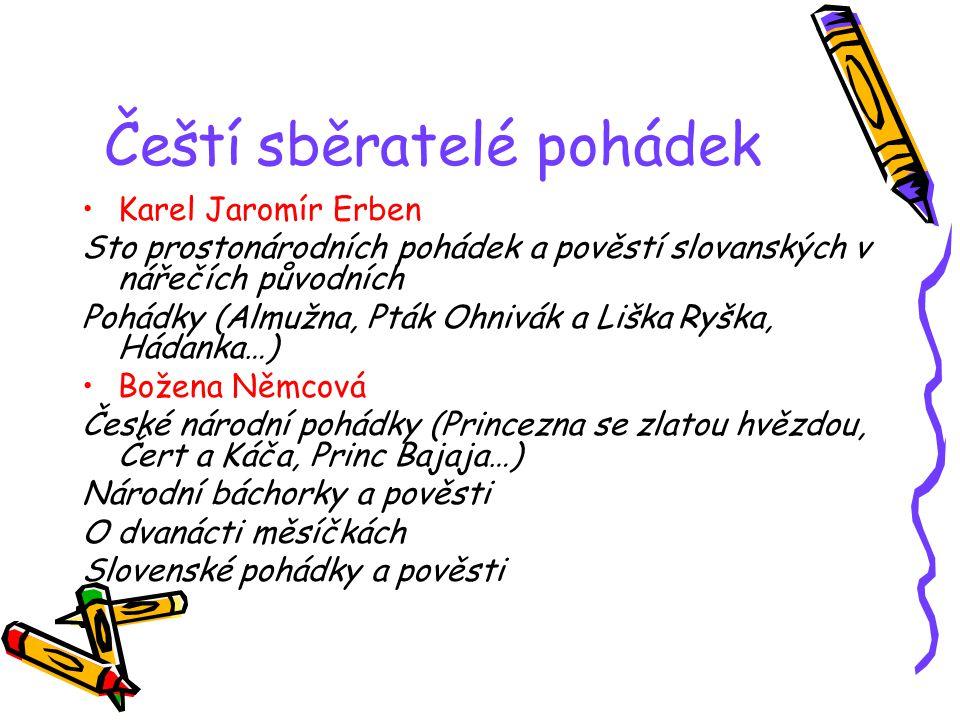 Čeští sběratelé pohádek