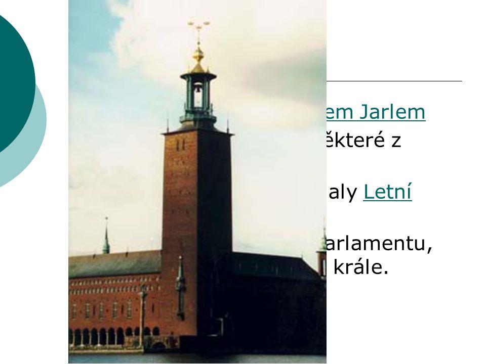 Stockholm založeno údajně Birgerem Jarlem
