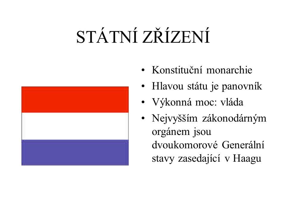 STÁTNÍ ZŘÍZENÍ Konstituční monarchie Hlavou státu je panovník