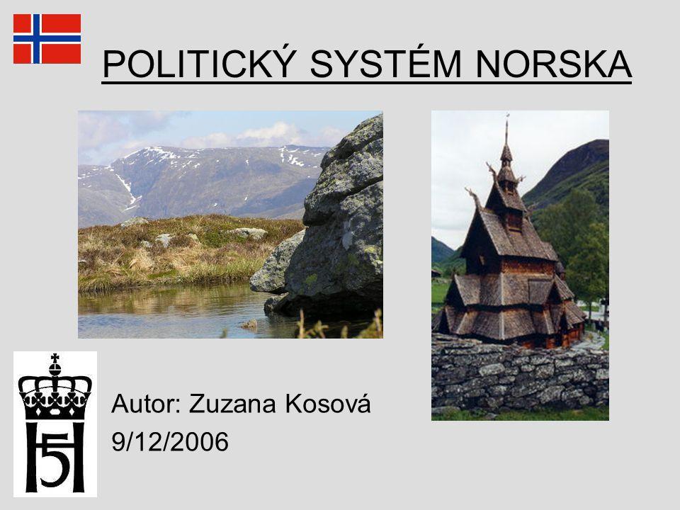 POLITICKÝ SYSTÉM NORSKA