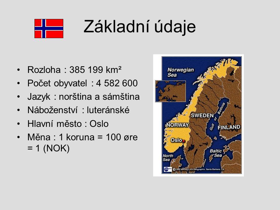 Základní údaje Rozloha : 385 199 km² Počet obyvatel : 4 582 600
