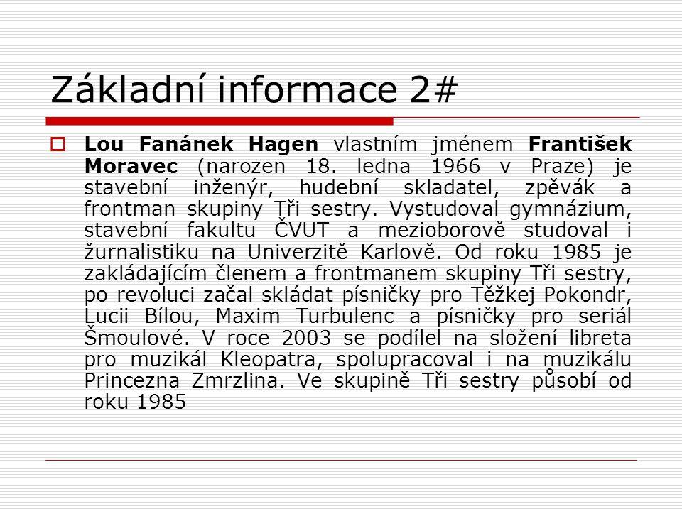 Základní informace 2#
