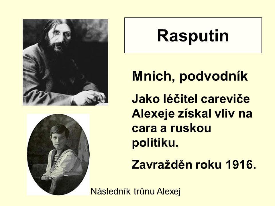 Rasputin Mnich, podvodník