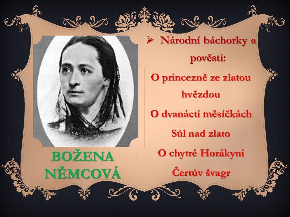 Národní báchorky a pověsti: O princezně ze zlatou hvězdou