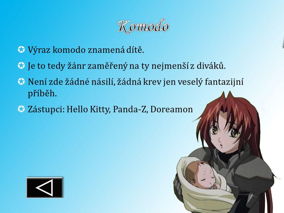 Komodo Výraz komodo znamená dítě.